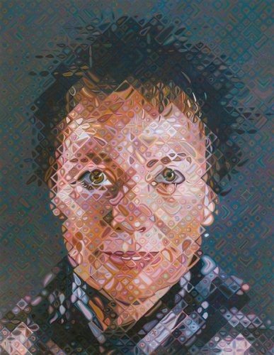 Chuck Close - Laurie