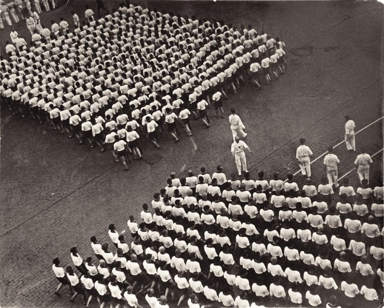 Alexander Rodchenko - Sport parade in Red Square