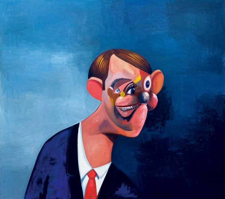George Condo - The Informer