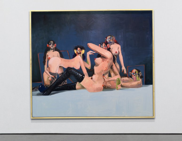 George Condo - Orgy Composition