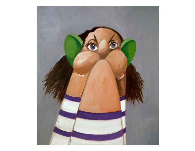 George Condo - Stump Head