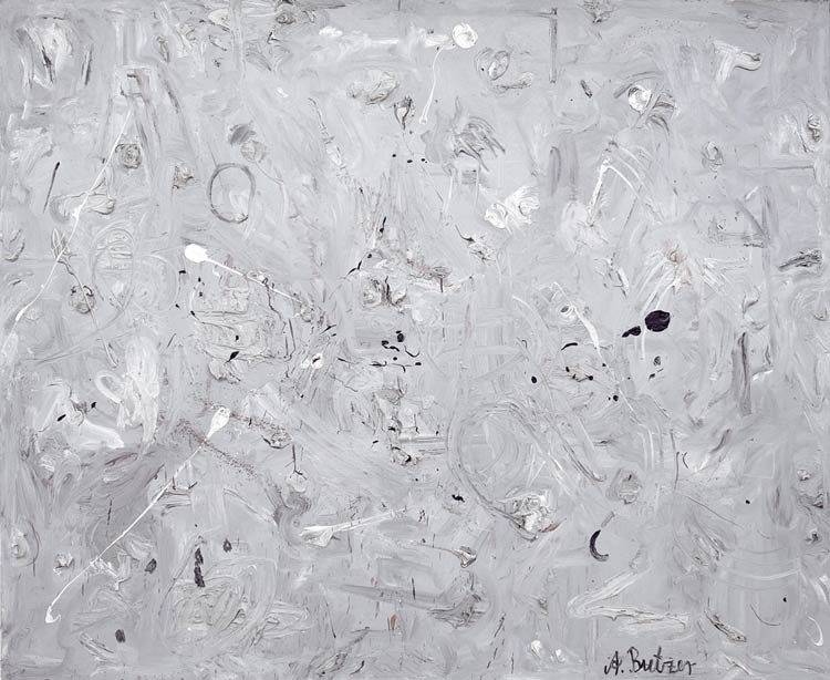 Andre Butzer - Untitled (Monochrome painting)