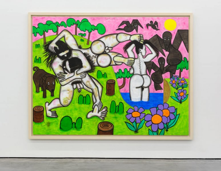 Carroll Dunham - Any DAy
