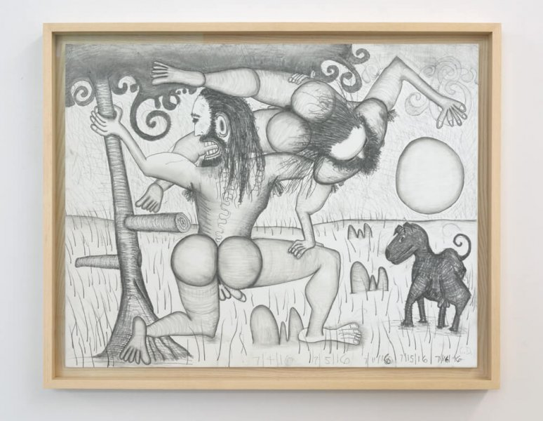 Carroll Dunham - The Golden Age (10)