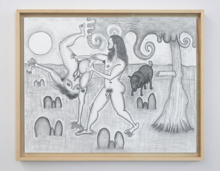 Carroll Dunham - The Golden Age (8)