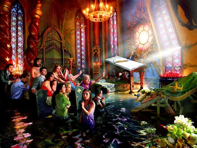 David LaChapelle - Cathedral