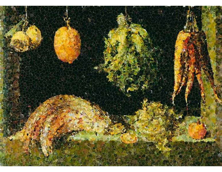 Still Life with Fruit and Vegetables, after Juan Sanchez Cotan