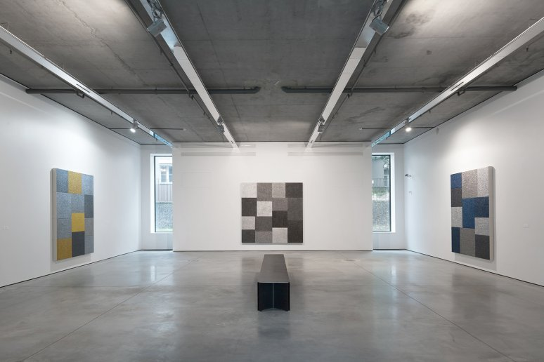 Peter Halley - Exhibition View | Gary Tatintsian Gallery, Inc