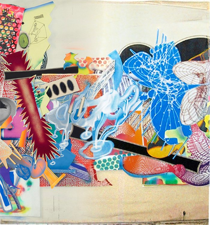 Frank Stella - The Duel C