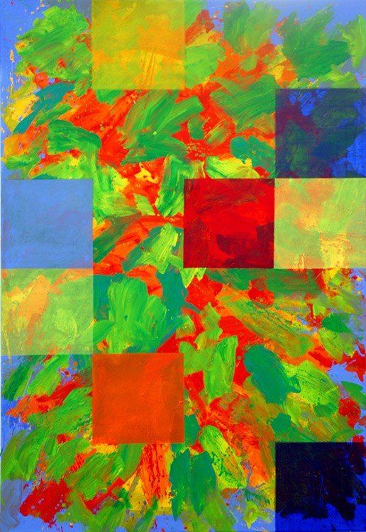 Leon Tarasewich - Abstraction (squares)
