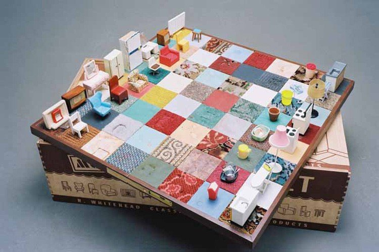 Rachel Whiteread - Modern Chess Set