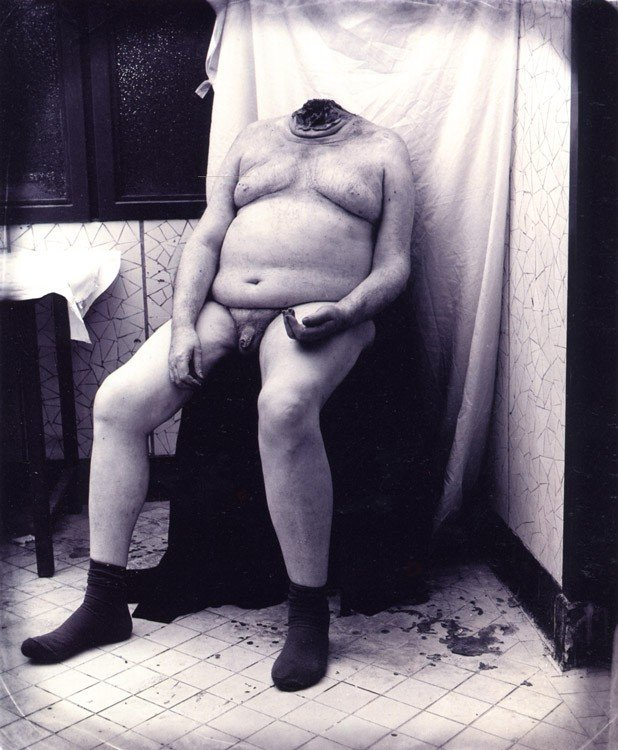 Joel-Peter Witkin - Man Without Head