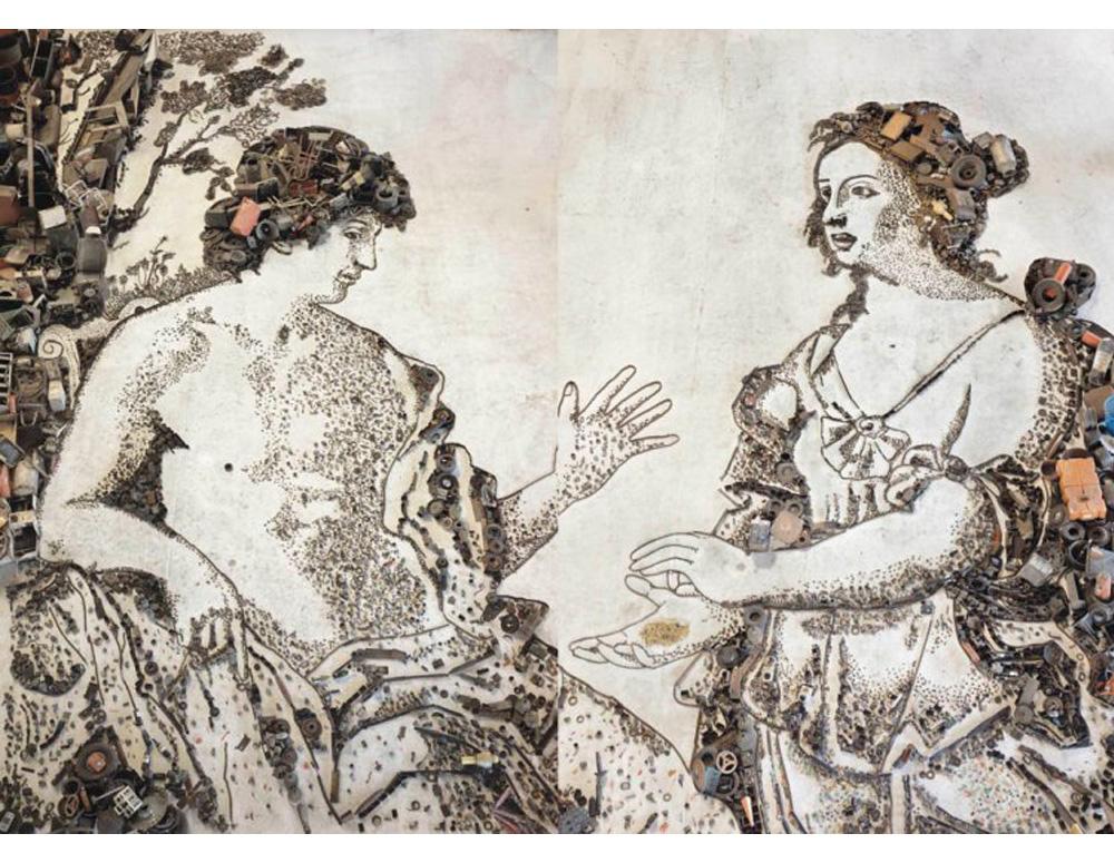 Apollo and the Cumaean Sibyl, after Giovanni Domenico Cerrini